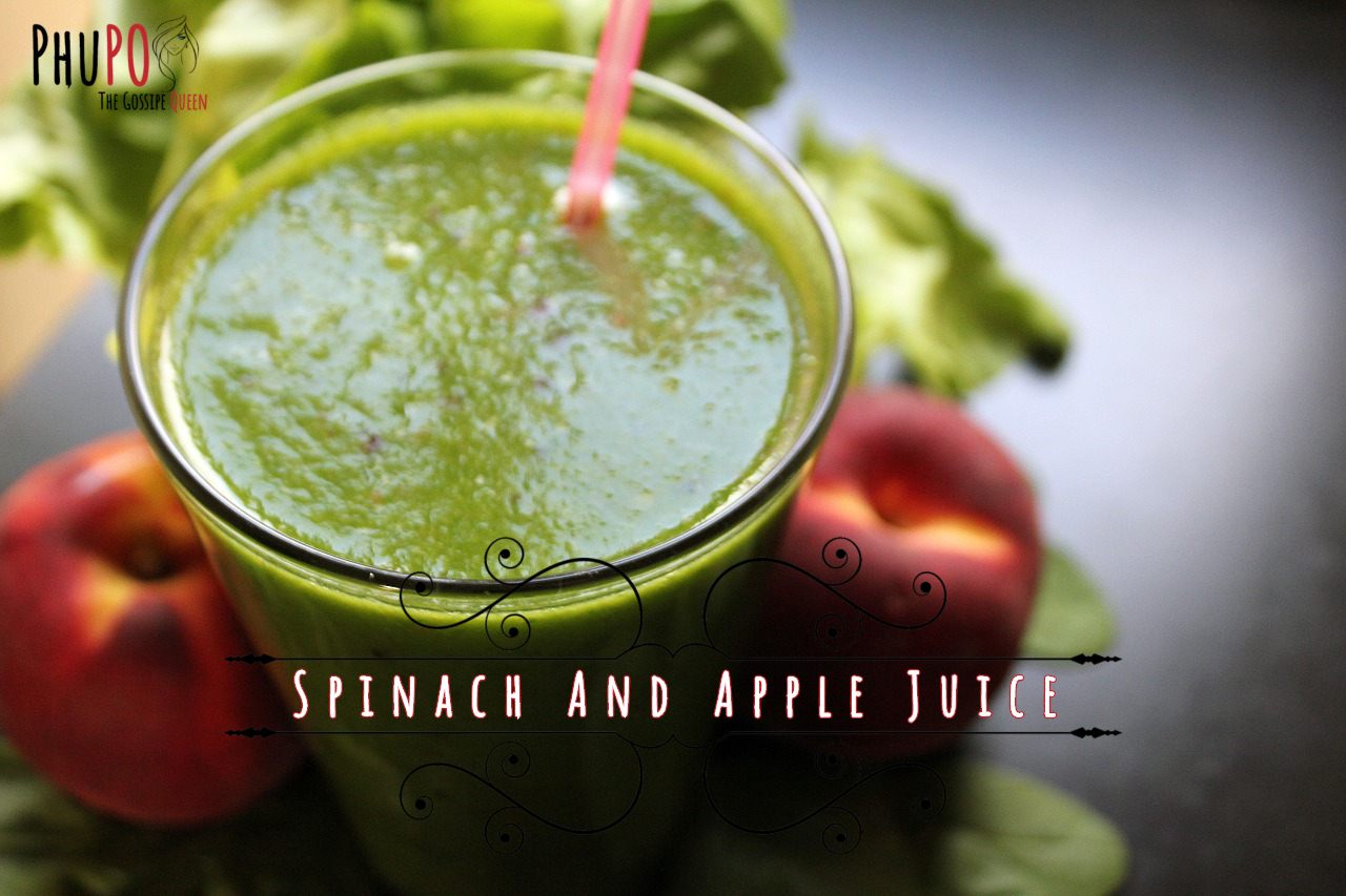 Spinach And Apple Juice (1)
