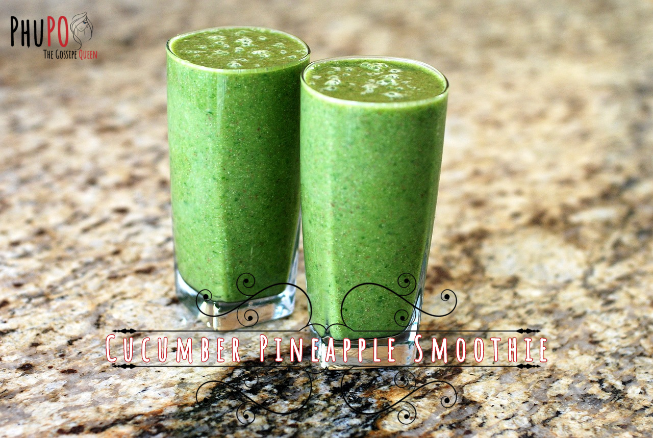 Cucumber Pineapple Smoothie