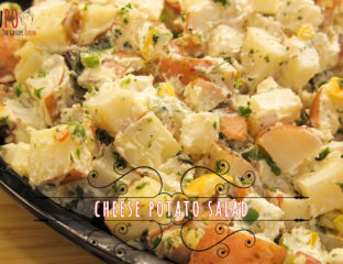 cheese potato salad