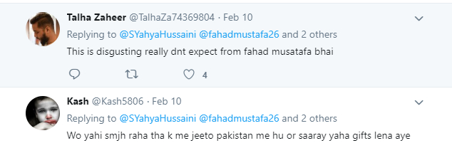 A Reporter Takes A Dig At Fahad Mustafa For His Rude