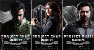 project ghazi new posters