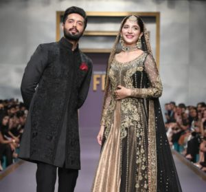 Fahad Mustafa and Mawra Hocane Showbiz A-Listers Walked Ramp And Stole The Limelight At Fashion Pakistan Week (19)