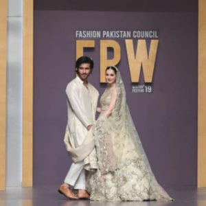 Feroze Khan and Hania Amir Showbiz A-Listers Walked Ramp And Stole The Limelight At Fashion Pakistan Week (34)