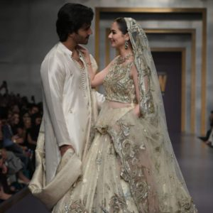 Feroze Khan and Hania Amir Showbiz A-Listers Walked Ramp And Stole The Limelight At Fashion Pakistan Week (35)